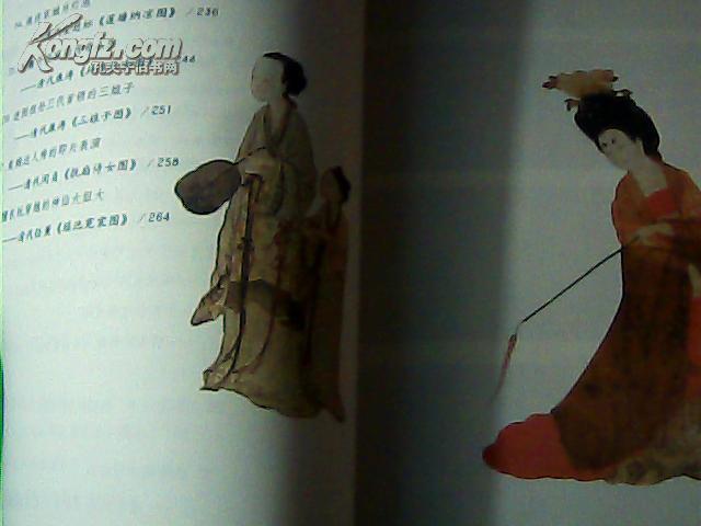 对镜贴花黄-----中国古代仕女画趣读