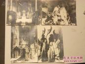 54年苏联电影剧照:伊万雷帝剧照8张及电影分镜头剧本 宣传材料
