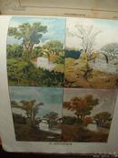 民国14年出版《图画研究》(二册).民国名家绘画.学画之导师.欣赏之良友.稀少