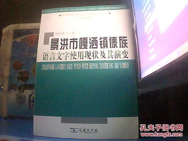 【图】景洪市嘎洒镇傣族语言文字使用现状及其