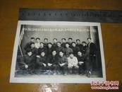 老照片:1959年中共监利县委五人小组人民大院战线全体肃反专干留念