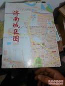 济南城区图(东背靠墙)