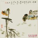 (名家字画),【真迹】 ,包真, 陈敬免  ,青年花鸟画家 ,小品写意 ,尺寸:34厘米*33厘米