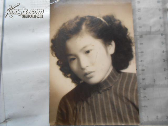 【图】民国时期 美女 黑白照