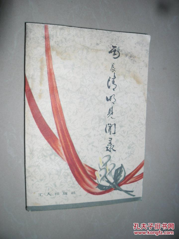 【图】丙辰清明见闻录_价格:7.00_网上书店网