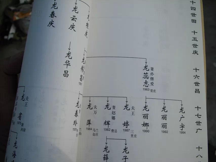 刘氏家谱字辈查询道传家世恩图片