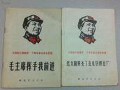 大海航行靠舵手 干革命靠毛泽东思想 毛主席挥手我前进:68年1版1印