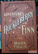 皮面软精装 The Adventures of Huckleberry Finn 哈克贝利·费恩历险记
