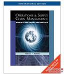 【正版八五新】Operations and Supply Chain Management: World Class Theory and Practice (英语)  9780324834871
