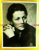 【赛珍珠纪念馆】赛珍珠签名照片/ 大尺寸,25.4*19.9厘米, Pearl S. Buck/赛珍珠