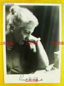 【赛珍珠纪念馆】赛珍珠签名照片/ 17.7*12.6厘米,Pearl S. Buck /赛珍珠