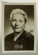 【赛珍珠纪念馆】赛珍珠签名照片/ 17.1*11.8厘米, Pearl S. Buck /赛珍珠