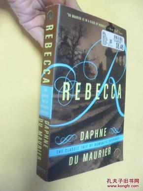 英文原版   蝴蝶梦  大32开本 Rebecca Daphne du Maurier
