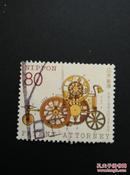 日邮·日本邮票信销·樱花目录编号C1717  1999年日本专利律师制度100周年纪念·  1全