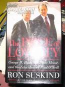 英文原版--The PRICE of LOYALTY---RON SUSKIND,