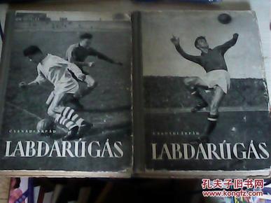 CSANÁRPÁD  LABDARúGÁS    两本合售 见图 书内有少许划线