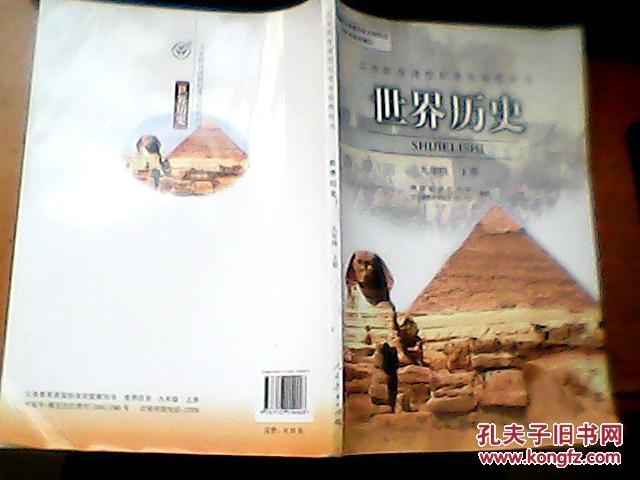 世界历史九年级上册图片