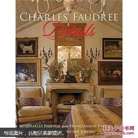 英文原版书室内设计CharlesFaudreeDetails顺字字体v原版图片