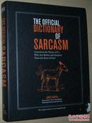 ◇英文原版书 The Official Dictionary of Sarcasm: A Lexicon