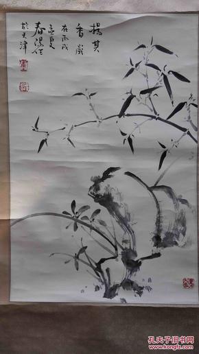 著名画家霍春阳精品画作,笔力强劲