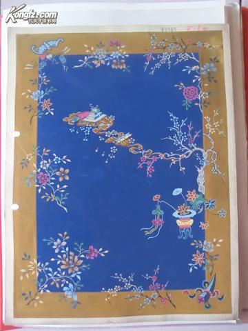 【图】民国地毯手绘图13