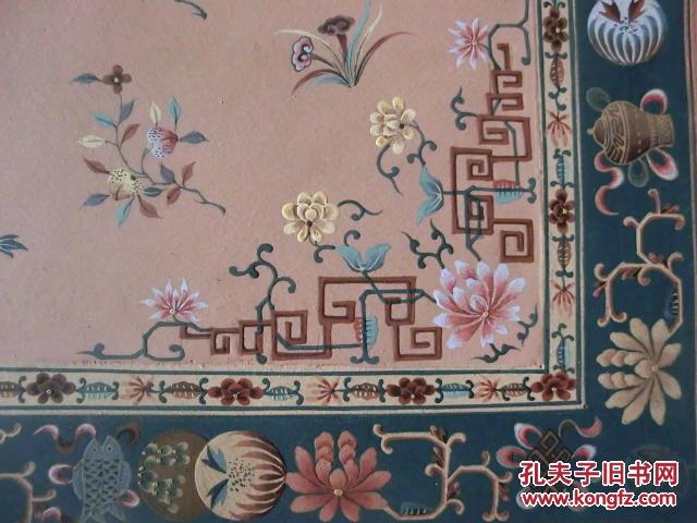 【图】民国地毯手绘图9