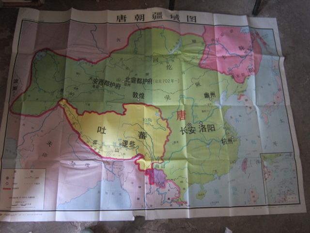 九年义务教育中国历史地图教学挂