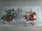 孟庆泉:画:三英战吕布(中国工艺美术家协会会员,山东省美术家协会会员)(补图6)
