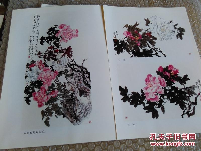 怎样画牡丹 尹延新画 9品 t51图片