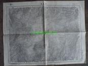 民国地图51【1947年】湖北省鹤峰县建始县恩施县石灰窑地形图