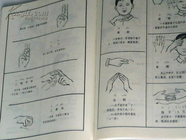 【图】聋哑人通用手语图-手语是全世界通用的吗