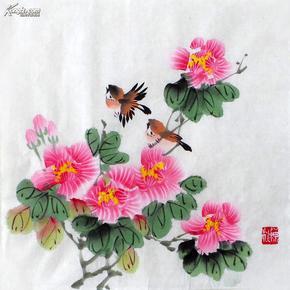 小品花鸟画迎春花gh00879