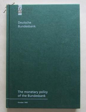 deutsche bundesbank(德意志联邦银行)德文原版书