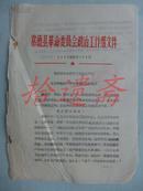 常徳县革命委员会政治工作组关于对詹国平所犯错误处分的决定