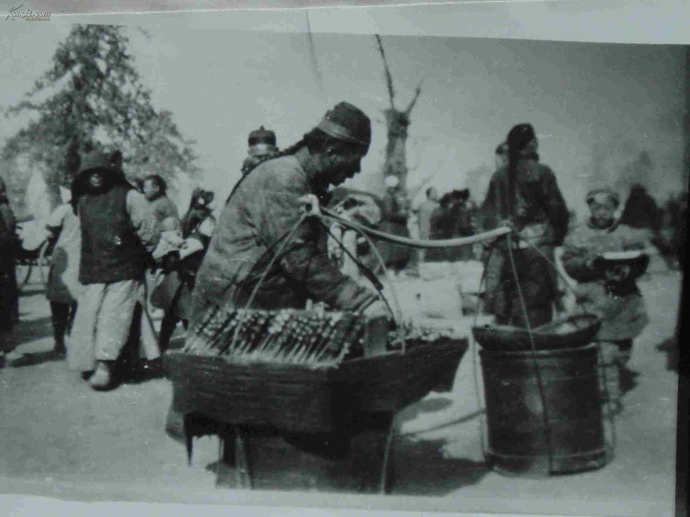 清朝-老糖葫芦