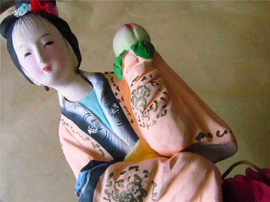 【图】早期精美彩色泥塑:古代美女之五