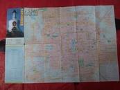 北京旅游交通图1994.2一版-印