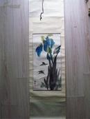 朱海云作品·兰花(立轴,67cm*33.5cm)