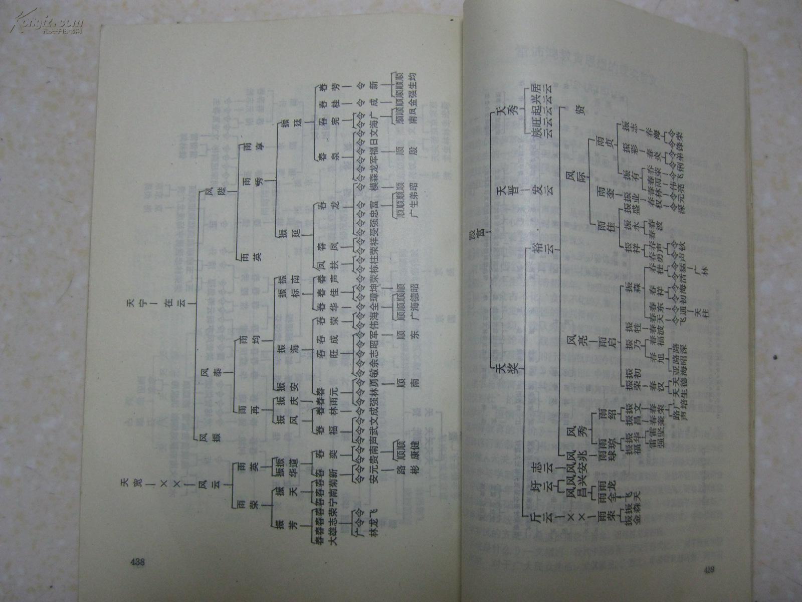 宁氏族谱字辈-雷氏家谱辈分表图片