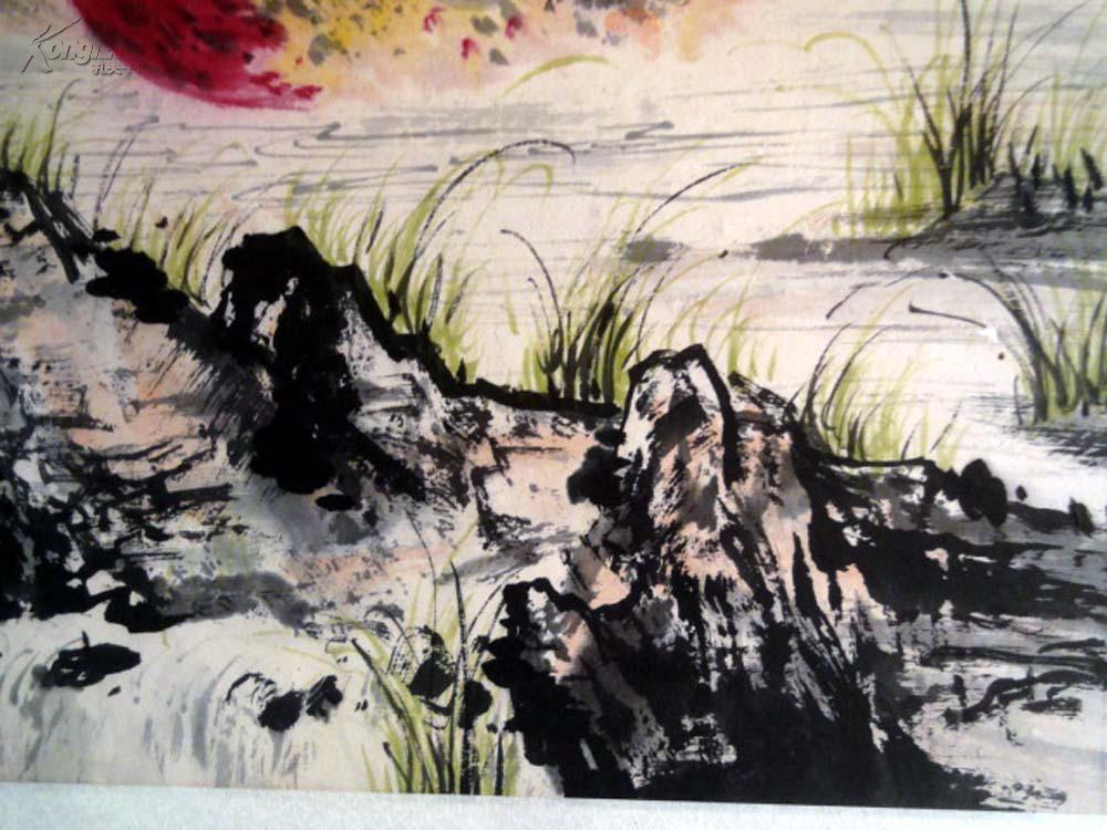 包老---安徽著名老画家【张良玉】68*45----花鸟图片