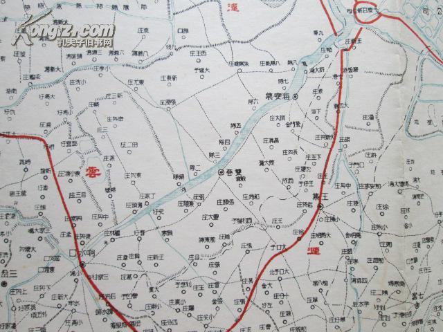 阜宁县彩版地图
