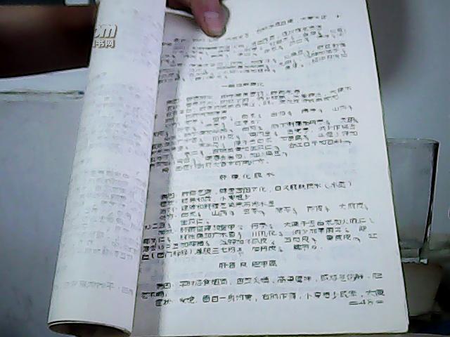 常见病例方(青海中医院方选) 油印本