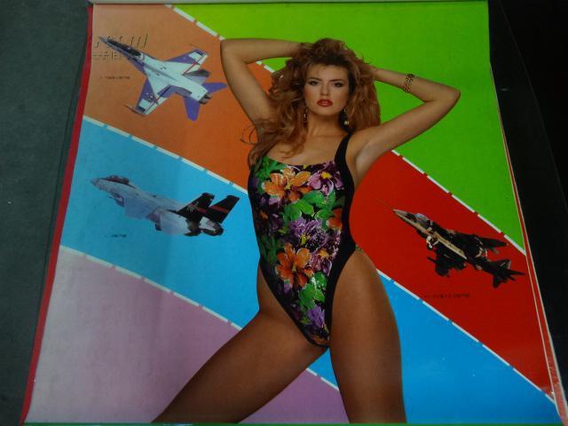 【图】93年挂历《泳装美女》朔胶6张全75x52cm