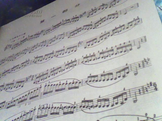 【图】小提琴高级音阶教程图片