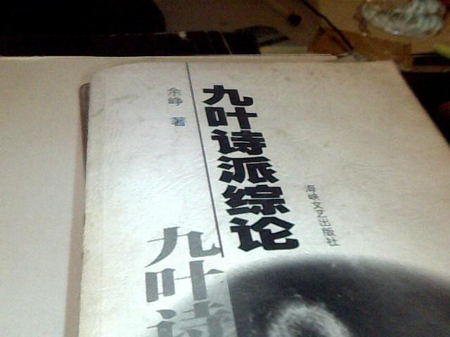 九叶诗派综论