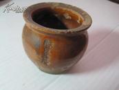 清代 天津 东马路 京天瑞堂 瓷制药罐  尺寸为6.5×7cm