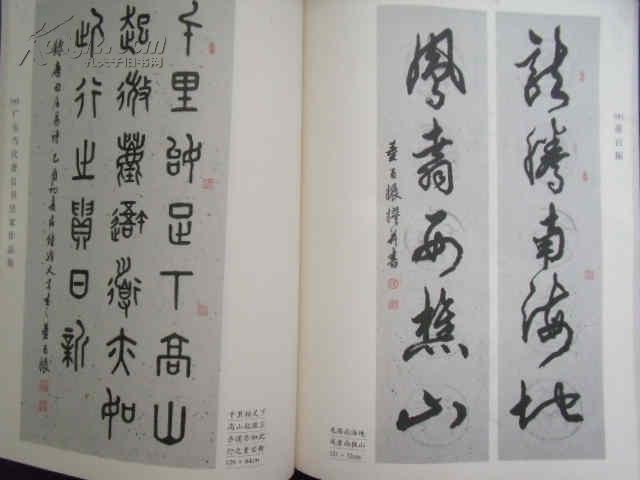 董百振 广东当代著名书法家作品集图片