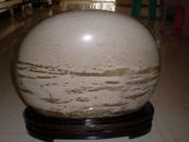 中国名石:清江石原石大型绿色双面风景画面