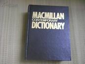 精装本《MACMILLAN CONTEMPORARY DICTIONARY》麦克米兰当代英语词典