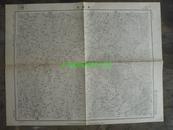 民国地图37【1948年】湖北省钟祥县长寿店地形图